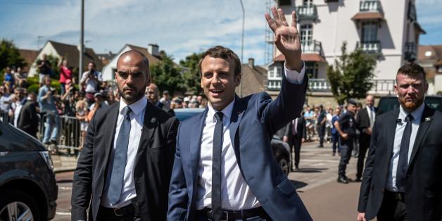 Wahl in Frankreich: Macrons Partei liegt deutlich mit 32 Prozent vorne laut erster Prognose