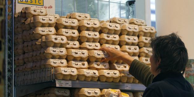 Eier werden in deutschen Supermärkten nicht gekühlt gelagert - das ist der Grund