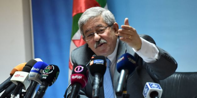 Secretary General of Rally for National Democracy (RND) Ahmed Ouyahia gives a press conference at the RND headquarters in Algiers on June 11, 2017. / AFP PHOTO / RYAD KRAMDI / RYAD KRAMDI        (Photo credit should read RYAD KRAMDI/AFP/Getty Images)