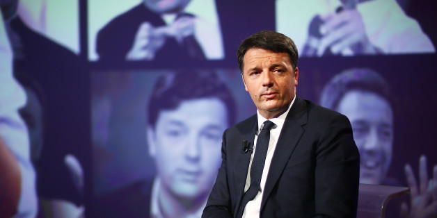 ROME, ITALY - MAY 14:  PD Secretary Matteo Renzi attends the 'L'Arena' TV show at Cinecitta Studios on May 14, 2017 in Rome, Italy.  (Photo by Ernesto Ruscio/Getty Images)
