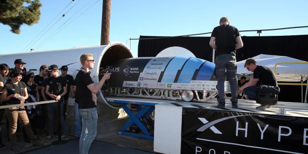 Mit der menschlichen Rohrpost durch Deutschland - Hyperloop One plant 9 Strecken in Europa