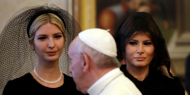 Ivanka Trump traf sich Ende Mai unter anderem mit dem Papst.