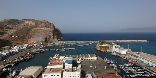 A view shows Al-Hoceima harbour on the Mediterranean coast in Morocco May 31, 2017. Protesters are expected to demonstrate Wednesday night in Morocco's northern town of Al-Hoceima, where a fishmonger was crushed to death inside a garbage truck in October 2016 as he tried to retrieve fish confiscated by police. REUTERS/Youssef Boudlal