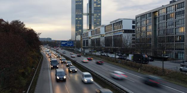 München hat ein Problem mit Luftverschmutzung.