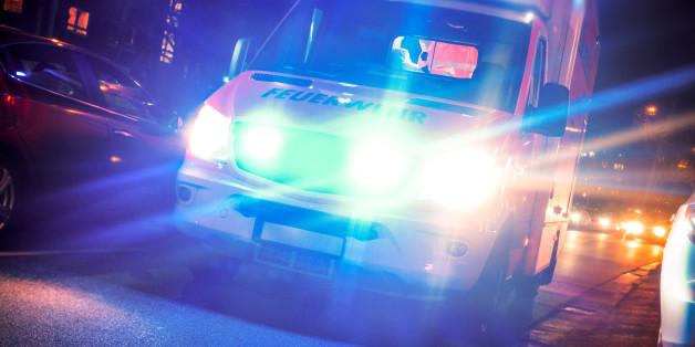 Ambulance in trafficDer 56-Jährige ist seinen schweren Kopfverletzungen erlegen