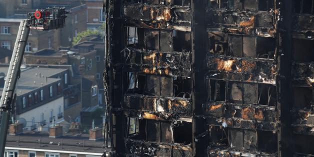 Der Brand im Londoner Grenfell Tower hat bereits 17 Todesopfer gefordert.