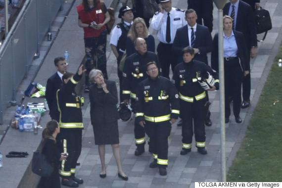 prime minister grenfell tower june 2017