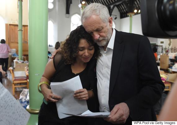 corbyn grenfell tower june 2017