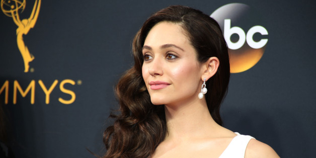 """Actress Emmy Rossum from the Showtime series """"Shameless"""" arrives at the 68th Primetime Emmy Awards in Los Angeles, California U.S., September 18, 2016.  REUTERS/Lucy Nicholson"""