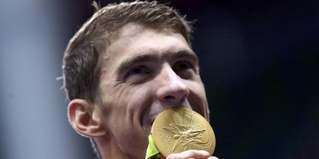 Michael Phelps sammelte zahlreiche Goldmedaillen.
