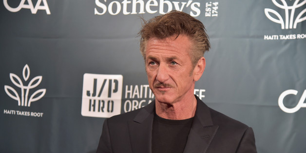 NEW YORK, NY - MAY 05:  Actor Sean Penn attends Sean Penn & Friends HAITI TAKES ROOT: A Benefit Dinner & Auction to Reforest & Rebuild Haiti to Support J/P Haitian Relief Organization at Sotheby's on May 5, 2017 in New York City.  (Photo by Theo Wargo/Getty Images for J/P Haitian Relief Organization )