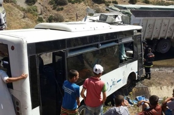 accident tetouan camion bus2