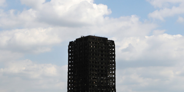 The burnt out shell of the Grenfell Tower apartment block in North Kensington, London, Britain, June 17, 2017. REUTERS/Kevin Coombs