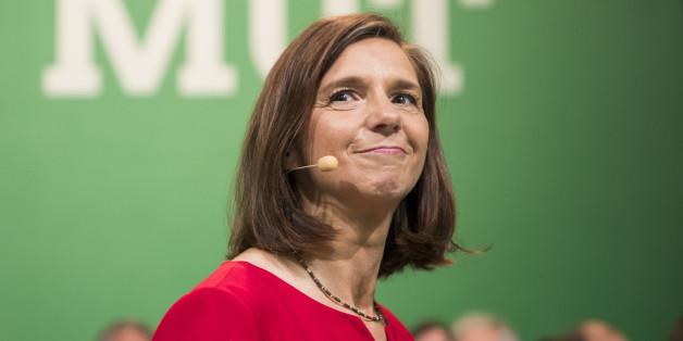 Die Spitzenkandidatin der Grünen Katrin Göring-Eckardt