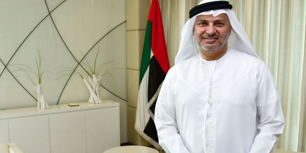 UAE state minister for foreign affairs, Anwar Gargash, poses for a picture during an interview with AFP in his office in Dubai on June 7, 2017. / AFP PHOTO / GIUSEPPE CACACE        (Photo credit should read GIUSEPPE CACACE/AFP/Getty Images)