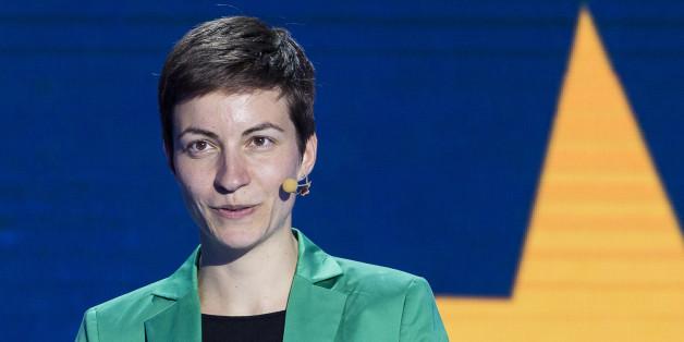 Ska Keller von den Grünen will, dass Osteuropa mehr macht in der Flüchtlingskrise.