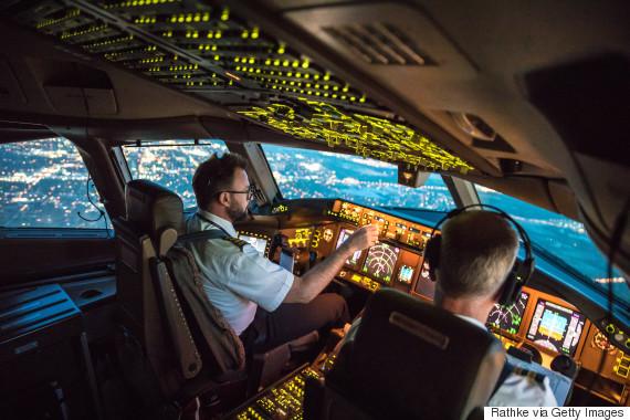 pilot cockpit