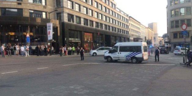 Explosion à la gare centrale de Bruxelles: l'assaillant abattu