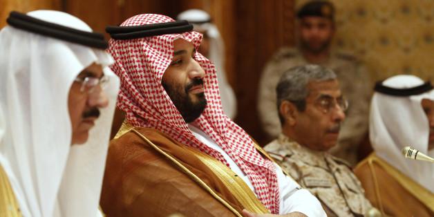 Ο μέχρι πρότινος αναπληρωτής διάδοχος, Μοχάμεντ μπιν Σαλμάν