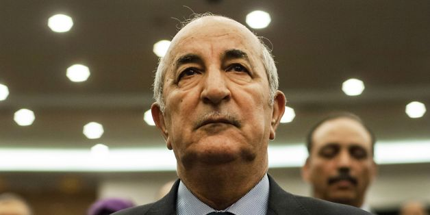 A picture taken on February 2, 2016 shows Abdelmadjid Tebboune during a meeting of the National Liberation Front (FLN) in Algeria.Algerian President Abdelaziz Bouteflika on May 24, 2017 appointed Abdelmadjid Tebboune as the country's new prime minister, replacing his confidant Abdelmalek Sellal in the wake of parliamentary elections. / AFP PHOTO / RYAD KRAMDI        (Photo credit should read RYAD KRAMDI/AFP/Getty Images)