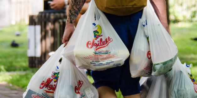 Plastiktüten sind eine der schlimmsten Umweltverschmutzer
