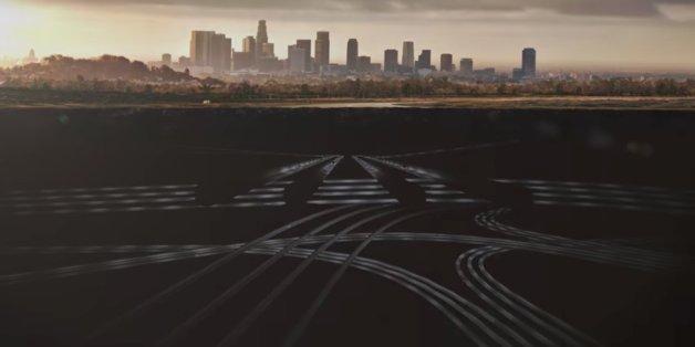 Autofahrer in Los Angeles können dem Verkehr künftig unter der Erde entfliehen