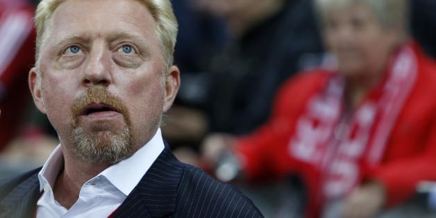 Boris Becker ist in finanziellen Schwierigkeiten