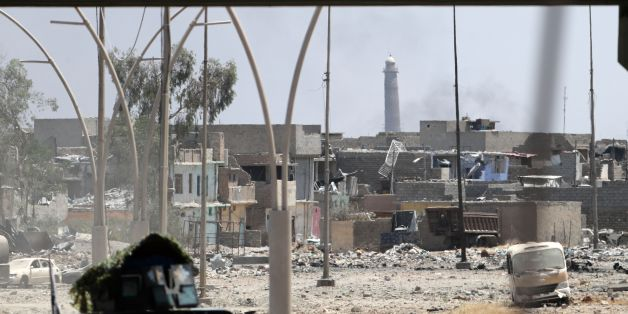 IS in Mossul besiegt? Terroristen sprengen die Moschee, in der sie einst das Kalifat ausriefen