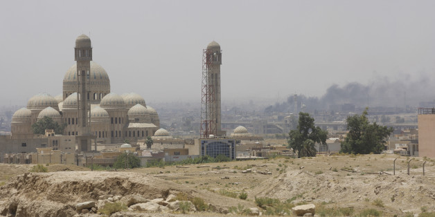Fighting in Mosul intensifies as Islamic State is pushed further and further back. Still under control of IS is the  Great Mosque of al-Nuri with its leaning minaret from where Abu Bakr al-Baghdadi declared a caliphate in 2014. Mosul, Iraq, 14 June 2017 (Photo by Noe Falk Nielsen/NurPhoto via Getty Images)