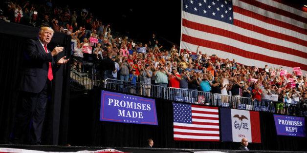 Trump will keinen armen Menschen Verantwortung in wirtschaftlichen belangen geben.