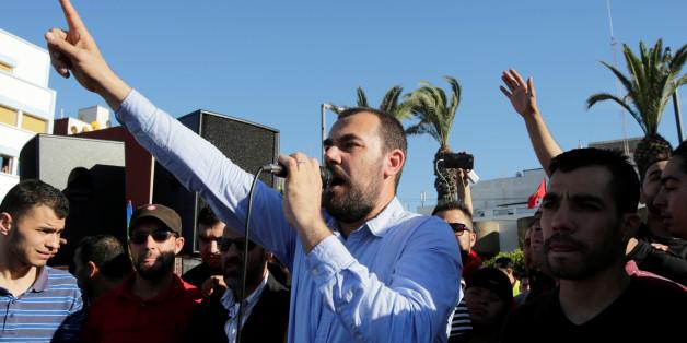 Le leader de la contestation du Rif, Nasser Zefzafi, la 18 mai 2017.