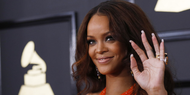 Singer Rihanna arrives at the 59th Annual Grammy Awards in Los Angeles, California, U.S. , February 12, 2017. REUTERS/Mario Anzuoni