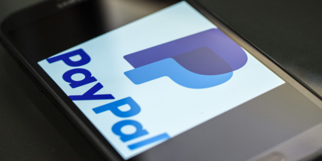 The new PayPal logo on a smartphone. PayPal is an e-commerce company that transfers payments over the internet. (Photo by Ted Soqui/Corbis via Getty Images)