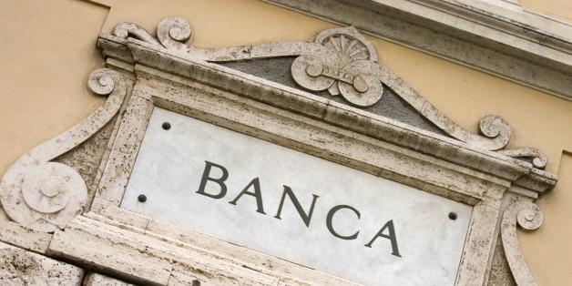 Italian Banca, Bank Sign.
