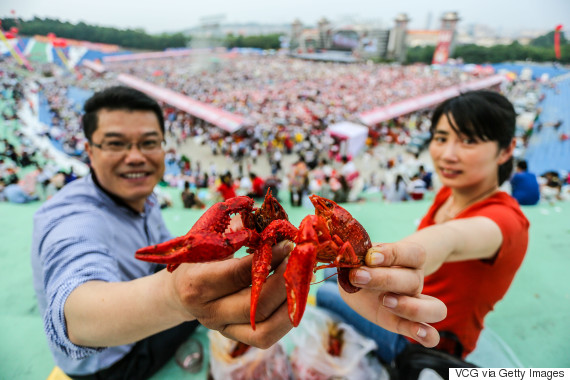 crayfish china