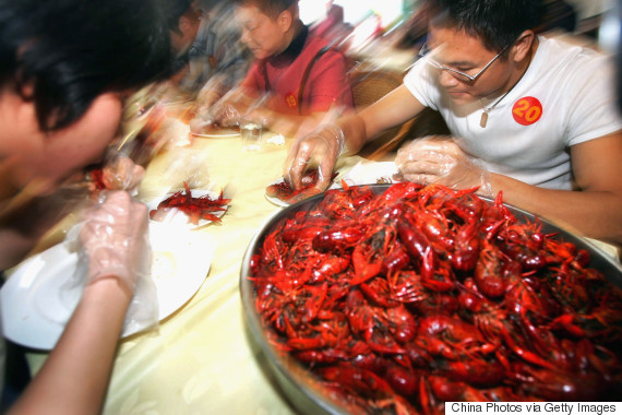 crayfish china