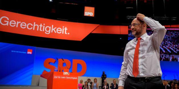 SPD-Parteitag: Schulz spricht überraschend ein zweites Mal – doch kaum einer bekommt es mit