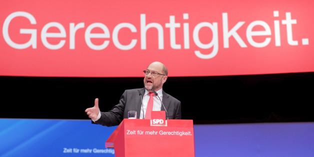 Martin Schulz tritt auf dem SPD-Parteitag auf wie ein Vize-Meister – und begeistert nur bei einem Thema