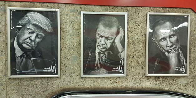 """""""Mensch, wach auf!"""" - Fritz-Kola legt sich mit Trump, Putin und Erdogan an."""