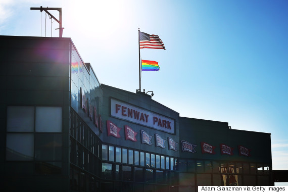 fenway park flag