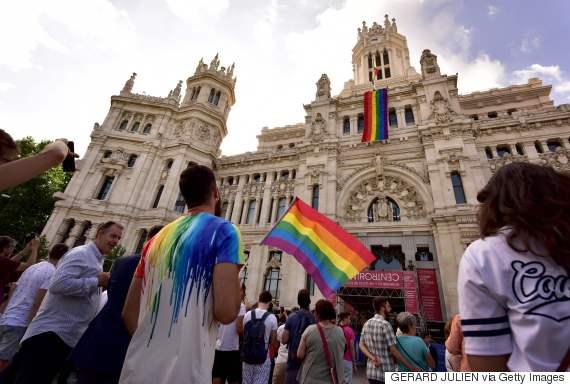 city hall rainbow