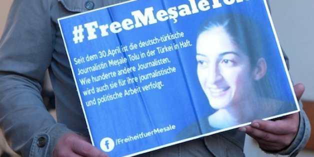 Meşale Tolu sitzt mit ihrem zweijährigen Sohn in der Türkei im Gefängnis.