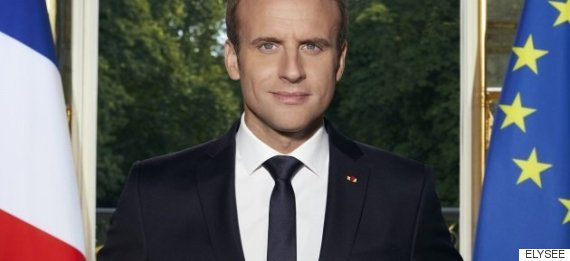 macron portrait official