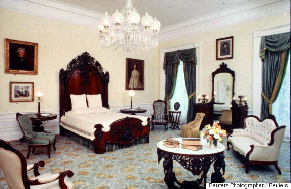 white house lincoln bedroom