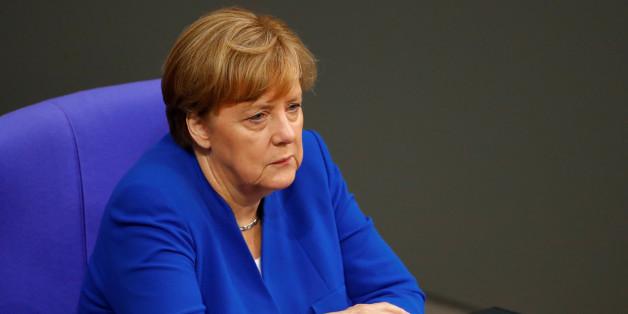 Sie machte die Abstimmung erst möglich: Kanzlerin Merkel stimmt gegen Ehe für alle