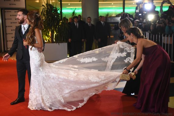 messi wedding afp