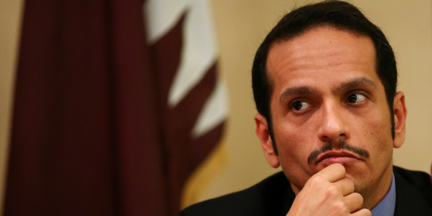 Qatari Foreign Minister Sheikh Mohammed bin Abdulrahman al-Thani attends a news conference in Rome, Italy, July 1, 2017.   REUTERS/Alessandro Bianchi     TPX IMAGES OF THE DAY