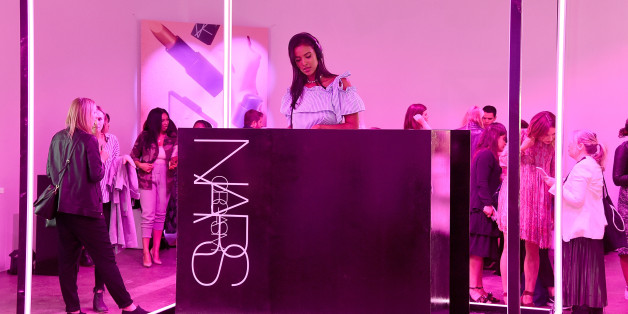 LONDON, ENGLAND - JUNE 29:  Maya Jama DJs at cosmetics brand NARs summer party alongside VIP friends and fans of the brand at Protein on June 29, 2017 in London, England.  (Photo by David M Benett/Dave Benett/Getty Images for NARs Cosmetics)