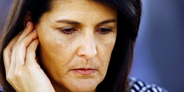 U.S. Ambassador to the United Nations Nikki Haley attends the United Nations Human Rights Council in Geneva, Switzerland June 6, 2017. REUTERS/Denis Balibouse