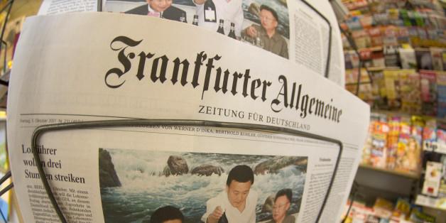 """Ehe für alle: """"FAZ""""-Redakteur schießt gegen eigenes Blatt"""